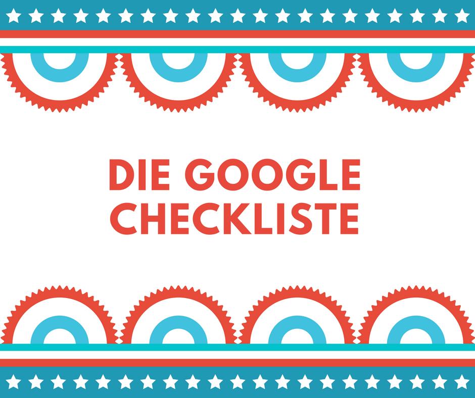 die-google-checkliste